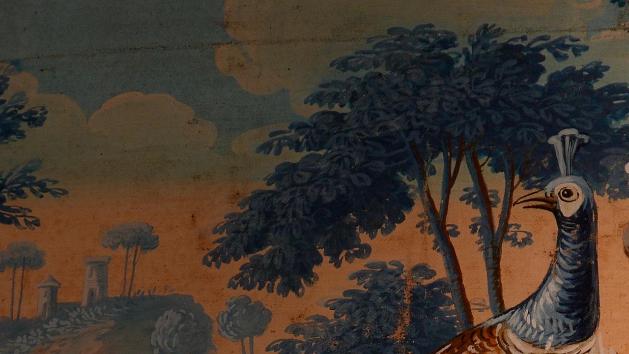 """""""Salle des toiles peintes"""""""