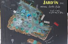 Carte design Jard'In Zur © Groupe Zur